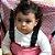 Cadeirinha Assento Portátil para Bebê em Tecido Rosa Poa - Imagem 3