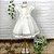 Vestido de batizado bebê Petit Cherie em tule com renda e cristais - Imagem 1