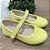 Sapato infantil boneca verniz amarelo Xuá Xuá - Imagem 1