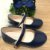 Sapato infantil boneca verniz azul marinho - Imagem 1