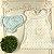 Vestido bebê Petit Cherie jardim encantado azul e branco Tam M - Imagem 2