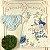 Vestido bebê Petit Cherie jardim encantado azul e branco Tam M - Imagem 1
