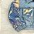 Jaqueta jeans infantil Petit Cherie menina paetês - Imagem 3