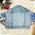 Jaqueta jeans infantil Petit Cherie menina paetês - Imagem 4