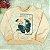 Conjunto bebê Petit Cherie blusa rosa borboleta legging jeans fake - Imagem 4