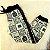 Conjunto infantil Petit Cherie blusa e calça de moletom leopardo com brilho preto e verde - Imagem 7