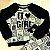 Conjunto infantil Petit Cherie blusa e calça de moletom leopardo com brilho preto e verde - Imagem 5