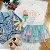 Conjunto infantil Petit Cherie inverno blusa saia tutu verde rosa - Imagem 1
