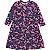 Vestido infantil Momi inverno casual manga longa flamingo - Imagem 2