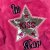 Blusa infantil Mon Sucré inverno de pelinho estrela paetês pink - Imagem 5