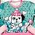 Conjunto de bebê Mon Sucré blusa calça moletom cachorrinho verde - Imagem 3