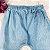 Calça bebê Petit Cherie feminina saruel jeans confort Tam G - Imagem 5