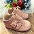 Tênis bebê menina lacinho verniz rose 14 ao 17 - Imagem 1