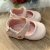 Sapato de bebê menina boneca verniz rosa claro 15 e 16 - Imagem 2