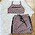 Conjunto tumblr teen top tule com saia rose preto Vanilla Cream - Imagem 2