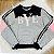 Conjunto de moletom teen tumblr blusa bye e calça moletom cinza - Imagem 2