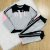 Conjunto de moletom teen tumblr blusa bye e calça moletom cinza - Imagem 1