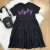 Vestido teen tumblr moletinho happy soltinho preto Vanilla Cream - Imagem 2