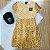 Vestido teen tumblr tule floral mostarda - Imagem 1