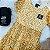 Vestido teen tumblr tule floral mostarda - Imagem 2