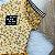Vestido teen tumblr tule floral mostarda - Imagem 3