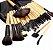 Kit 32 Pincel Maquiagem Profissional + Black Head - Imagem 1