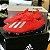 Chuteira Campo Adidas X 18 FG Vermelho (com cadarço) - Imagem 1