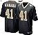 Camisa Esportiva Futebol Americano NFL New Orleans Saints Kamara Numero 41 Preta  - Imagem 1
