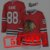 Camisa Esportiva Hockey NHL Chicago Blackhawks Patrick Kane Numero 88 Vermelha  - Imagem 7