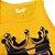 Camiseta Regata Esporte Basquete Lebron James The King Amarela  - Imagem 3