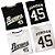 Camisa Esporte Baseball MLB Birminghan Barons Michael Jordan Número 45 Branca  - Imagem 4