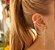 earcuff folha dourado - Imagem 1