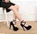 Sapato Salto Alto Plataforma (Várias Cores) - Imagem 3