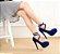 Sapato Salto Alto Plataforma (Várias Cores) - Imagem 2