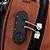 mochila notebook fone usb cadeado unissex masculino feminino - Imagem 2