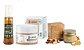 Kit tratamento facial orgânico: sabonete facial, creme hidratante antissinais + máscara iluminadora  - Imagem 1