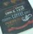 Placa de Metal Relevo Coffee - Imagem 2
