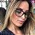 Óculos Quadrato Tendência Fashion Model - Imagem 5
