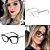Óculos Quadrato Tendência Fashion Model - Imagem 1
