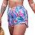 Short Feminino Estampado Barcos Rosa - Imagem 3