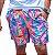 Short Masculino Estampado Barcos Rosa - Imagem 1