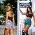 Kit 2 Shorts Feminino por R$139,20 - Imagem 1