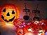 Fio de Luzinhas Abóbora - Enfeite Halloween - Imagem 2
