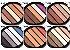 Paleta de Sombras com 5 Cores Miss Rôse  - Imagem 2