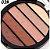 Paleta de Sombras com 5 Cores Miss Rôse  - Imagem 5