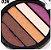 Paleta de Sombras com 5 Cores Miss Rôse  - Imagem 4