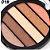 Paleta de Sombras com 5 Cores Miss Rôse  - Imagem 3