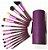 Kit de Pincel Miss Rosê 12 Peças Roxo - Imagem 3
