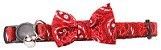 Coleira Vermelha Gato Pawise - Imagem 1