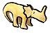Dinossauro Pelúcia com Apito Pawise - Imagem 1